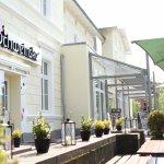 Schweinske in Ahrensburg - the beer garden