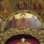 Part of the iconostasis