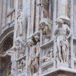 Saints, Apôtres et Prophètes en marbre blanc