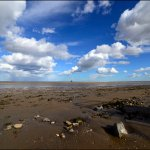 Haile sand fort at the Fitties, Humberston, Lincolnshire, 2017