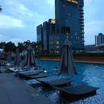 This hotel is flawless!  Staff are so accommodating and pleasant,  facilities are of the highest