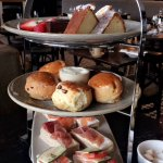 Afternoon tea at Brasserie Blanc