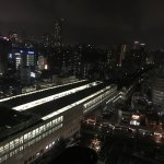 night view from 22nd floor