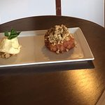 Daily Special - Apple & Plum Crumble With Clotted Cream Ice Cream