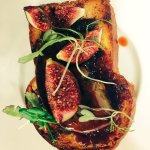 Foie Gras with Roasted Fig Chutney & Roasted Figs on Toasted Brioche