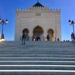 Mausoleum Mohammed V. Foto