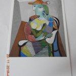 cartolina di una delle opere esposte