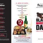 Menú de barra jornadas 'Black Marisco Day' del 17 al 30 noviembre
