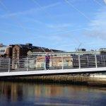 Millenium Bridge, no 'Fog on the Tyne' today!