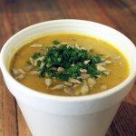 Sopa especiada de Calabaza