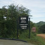 The way to the lodge