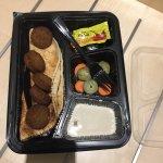 Left over tasteless food
