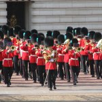 Band leaves the palace