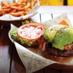 The Duke (Avocado and Bacon Burger)