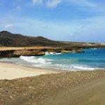 View 1 of the Atlantic side of Aruba