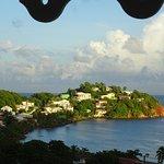 Les hauteurs de Tartane depuis le balcon