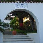 Hotel El Faro Entrance