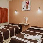 habitaciones doble 2 camas, aire acondicionado y/o ventilador