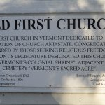 Old First Congregational Church Foto
