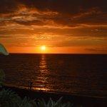 Les couchers de soleils sont magnifique depuis la terrasse