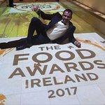 Rana Miah at The Food Awards Ireland 2017 Best Indian Restaurant in Ireland Award