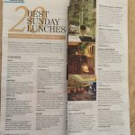 Recommended by Lucinda O'Sullivan as one of the top 20 places in Eire for Sunday Lunch 20th Nov