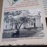 Plantation was a working cotton plantation