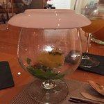 Catalan smoked shrimp salad.