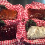 Southwest, Chipotle, Blueberry and Ranch Ribs