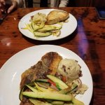 Blackened Red Snapper / Grilled Sword Fish
