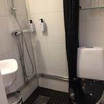 Mini-bathroom of single room