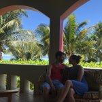 View from the Villa's oceanfront veranda