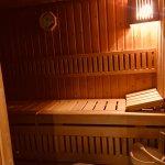 Sauna für zwei Personen gut ausreichend
