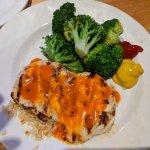 Buffalo Chicken Breast and steamed Broccoli