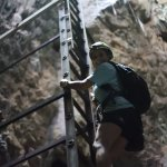 Caverna Terciopelo, don't look down if you are afraid to heights