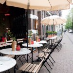 Cozy terrace at the Herengracht
