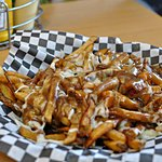 Crave Fries with melted mozzarella cheese and gravy