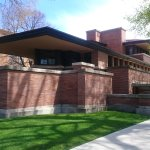 Outside Robie House