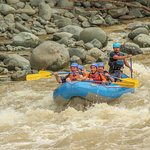 White water rafting with Amigos Del Rio