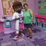 Doc McStuffins is a new character at Rafiki's Planet Watch