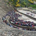 Théâtre romain un dimanche de Pâques