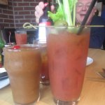 Frozen Jack & Coke with Bloody Mary
