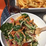 INSANE!! I eat a lot of salads and this quinoa one was one of the best ever. My husband had the