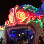 """The """"Dragon Mouth"""" leads to a big arcade center"""