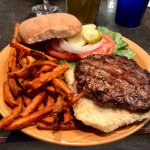 Hamburger at The 19th Hole