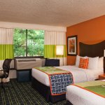 Enjoy plenty of space in our Double/Double Guest Room