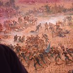 Part of the cyclorama