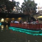 river boat on the riverwalk