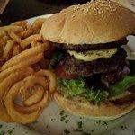 lamb burger...