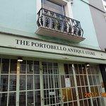 Tienda típica de Portobello